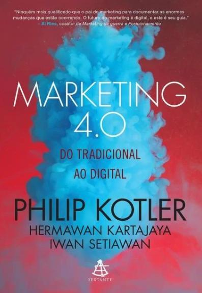 """Capa do """"Livro Marketing 4.0"""", um dos seis livros sobre Marketing Digital que você deve ler."""